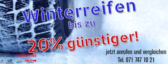 Winterreifen aktion